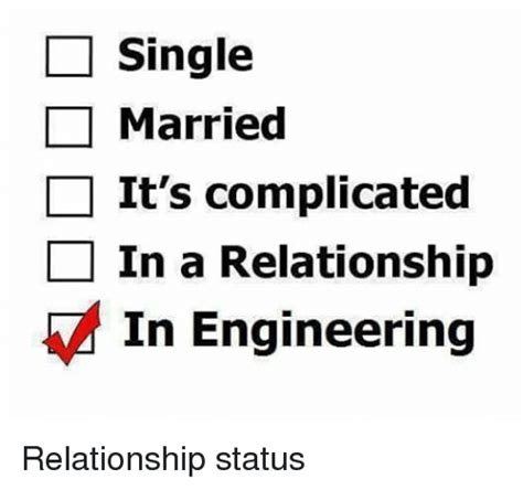 Single Relationship Memes - single married it s complicated in a relationship in