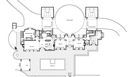 mansion floor plans ralston avenue hillsborough california eric revised the square foot virginia