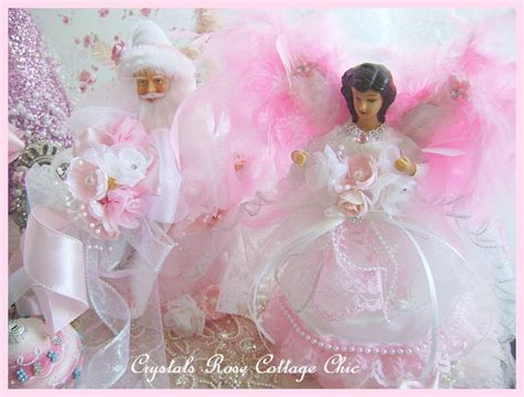 shabby chic tree toppers www crystalsrosecottagechic 169 website design by