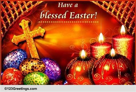 Orthodox Easter Cards, Free Orthodox Easter Wishes