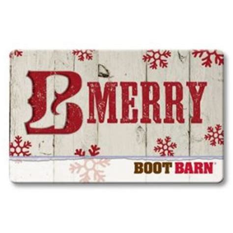 Boot Barn Gift Card - boot barn santa suits and cowboy boots contest