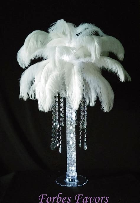ostrich feather chandelier deluxe moments ostrich feather teardrop dangle chandelier with