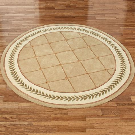 rounds rugs floral trellis rug