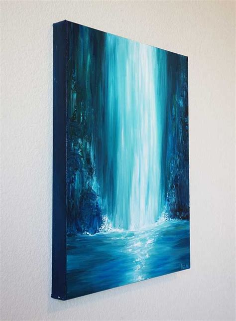 blue and white painting best 25 large painting ideas on acrylic
