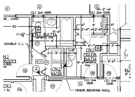 plumbing floor plan floor plan with plumbing layout lesmurs info