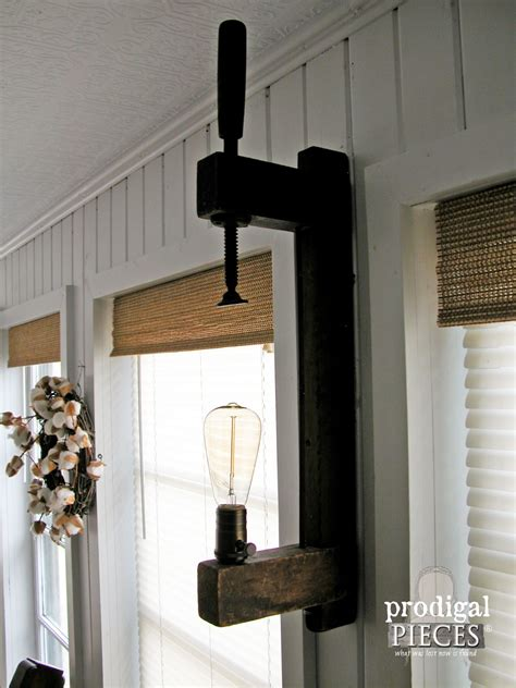 farmhouse sconce diy farmhouse lighting kitchen remodel continues