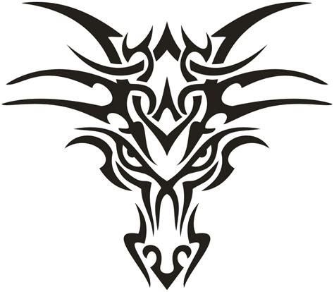 gambar tribal pattern owl gambar tribal animal head budidrawing76