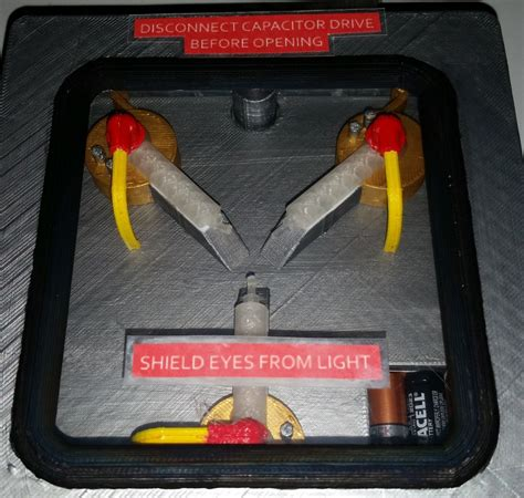 how to read flux capacitor 3d print your own flux capacitor