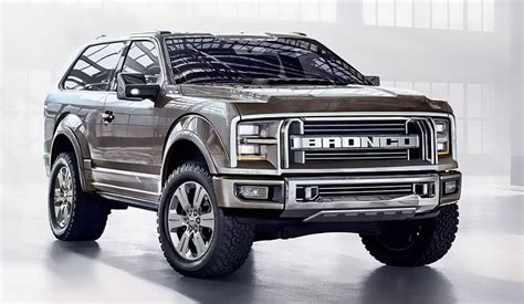 new ford bronco or fiction horsepower