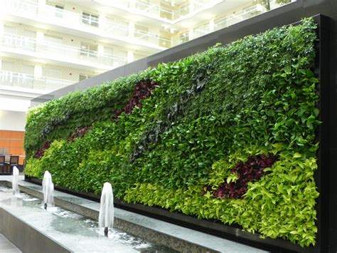 Vertical Garden Walls A Living Revolution Living Walls Leed Well Building