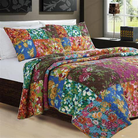 Sprei Bedding 2018 100 Cotton Color Flower Handmade