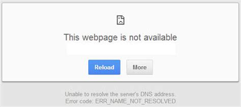 the website is currently not available chrome s offline cache mode uses cached files