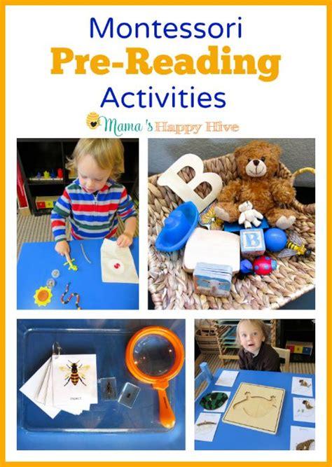 montessori pre reading activities montessori language