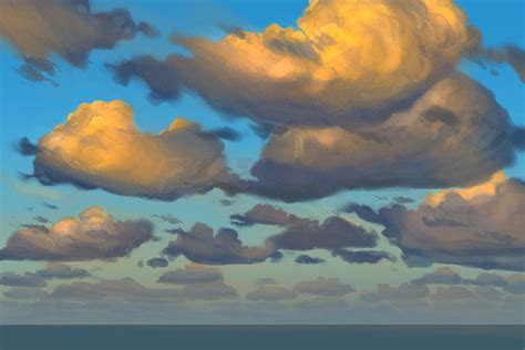tutorial watercolor clouds painting clouds in photoshop 1 the art of aaron blaise