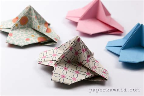 Origami Place Card - origami card holder paper kawaii