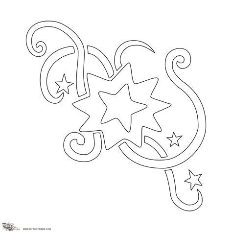 printable star tattoo designs tattoo of stars sweetness impulsiveness tattoo custom