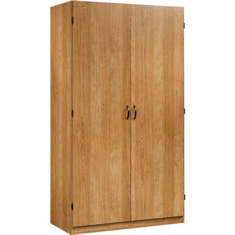 sauder oak storage cabinet sauder beginnings wardrobe and storage cabinet highland