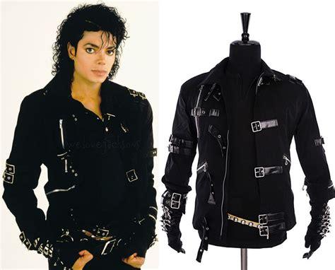 Stelan Mj Vest Belt Murah michael jackson mj bad black jacket glove outerwear collection ebay