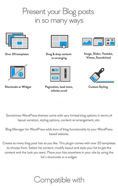 wordpress layout manager blog manager for wordpress otwthemes com