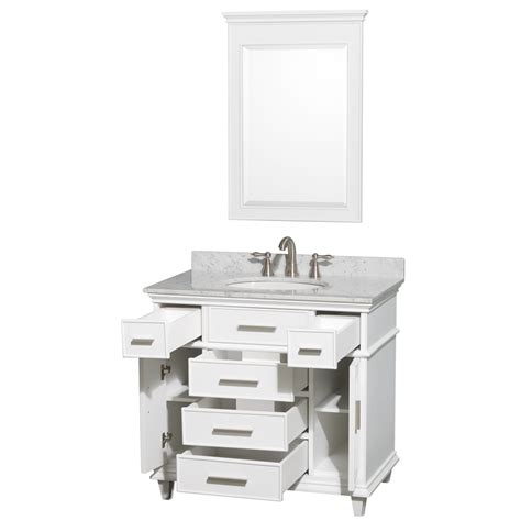 Wyndham Bathroom Vanities by 36 Quot Berkeley Single Bathroom Vanity Set By Wyndham