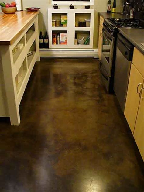 Concrete Floor L by How To Acid Stain Concrete Floors Lil Moo Creations