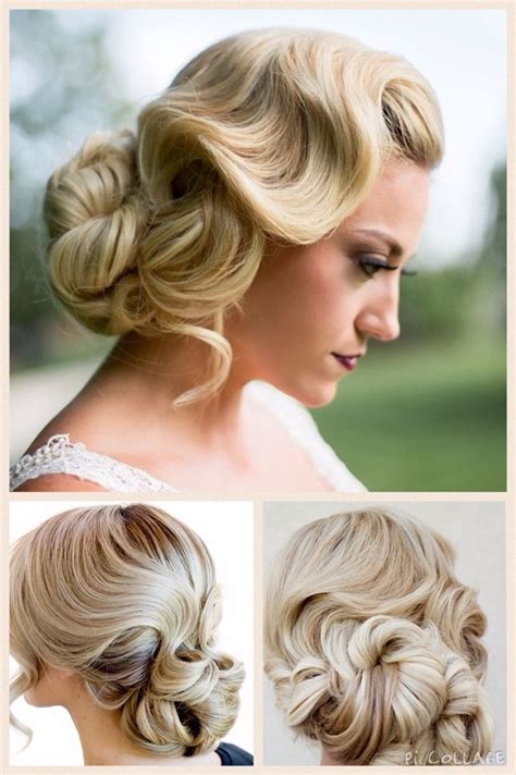 Finger Wave Updo Hairstyles by Finger Wave With Chignon Chignons Updos