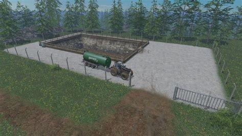 Cowhide Ls manure slurry storage transportation v 1 0 farming simulator 2017 mods farming simulator 2015