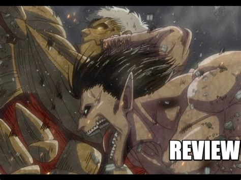 Attack On Titan Season 2 Episode 7 (32) Review: Eren VS ... Attack On Titan Eren Titan Vs Armored Titan