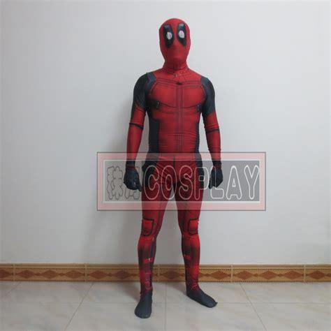 Kaos Print Umakuka Dedpool Suits newest marvel x deadpool costume spandex zeitai digital