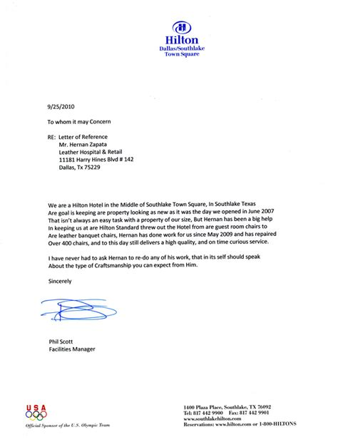 Letter Of Recommendation Letter For Reference Letters New Calendar Template Site