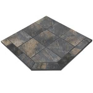 fireplace hearth pads navajo 40 x 40 single cut corner hearth pad