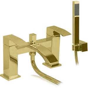 Gold Bath Shower Mixer Taps clarance bath shower mixer tap gold optima bathroom solutions ltd