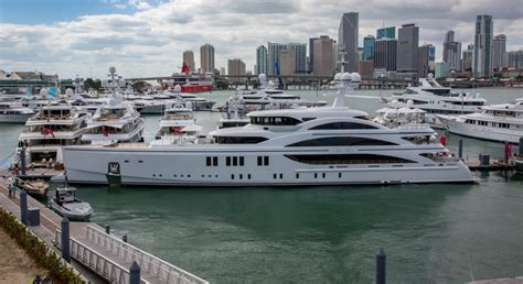 miami beach boat show 2017 yachts miami beach redesign to enhance show experience
