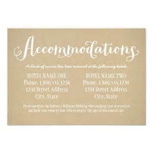 wedding accommodation card 25 best ideas about accommodations card on