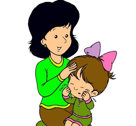 imagenes de mama con sus hijos en caricatura dibujo de madre pintado por mama en dibujos net el d 237 a 04