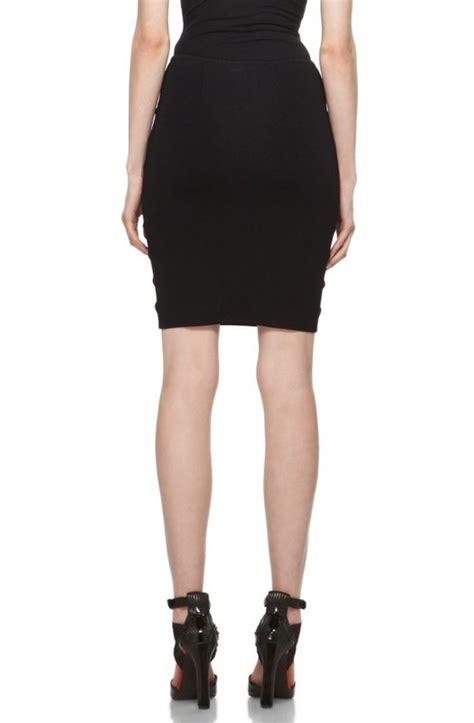 Premium Herve Leger Black Skirt Bodycon Bandage herve leger black cutout bandage skirt