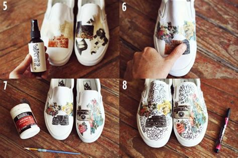 diy white shoes musely