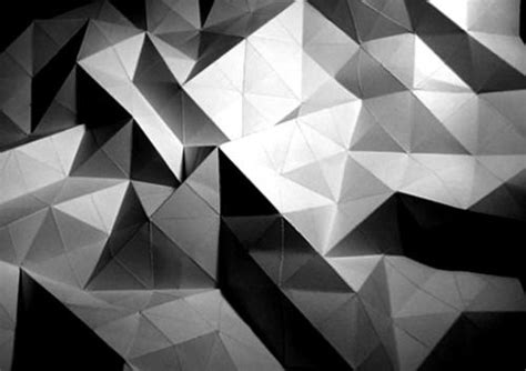 Folded Paper Designs - gt mesh triangle triangle 三角形