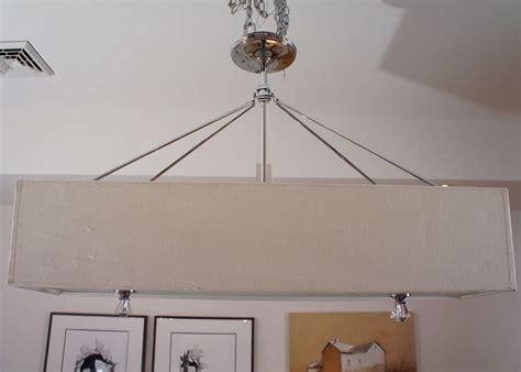 Rectangular Lighting Fixtures Rectangular Hanging Light Fixture At 1stdibs