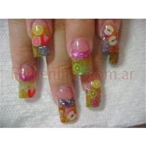 imagenes uñas decoradas postizas u 241 as postizas