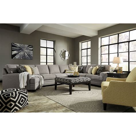 Furniture Groupings Living Room Benchcraft Cresson Stationary Living Room Sol Furniture Stationary Living Room Groups