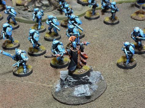 Colour Scheme Creator by Completed Tau Army In Sky Blue Scheme Large Images Fw
