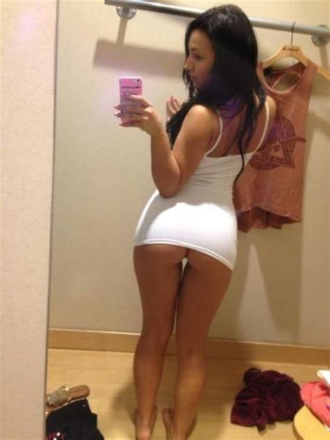 bottomless asian girl selfie something about changing rooms makes girls want to selfie