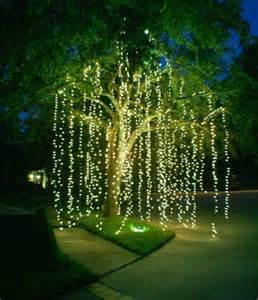 how to string lights on outdoor trees 20 amazingly pretty ways to use string lights