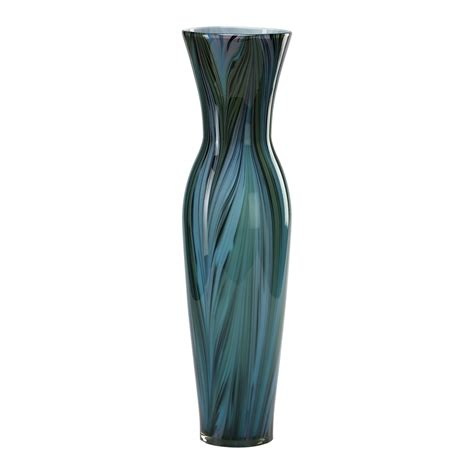 Decorative Feathers For Vases by Cyan Design 02921 Peacock Feather Vase Multi Colored