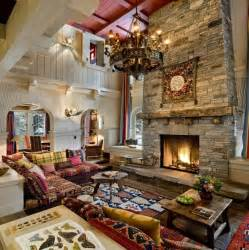Southwest Area Rug 54 Living Rooms With Soaring 2 Story Amp Cathedral Ceilings