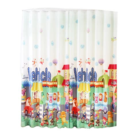 colorful patterned curtains colorful patterned cute print poly cotton blend custom