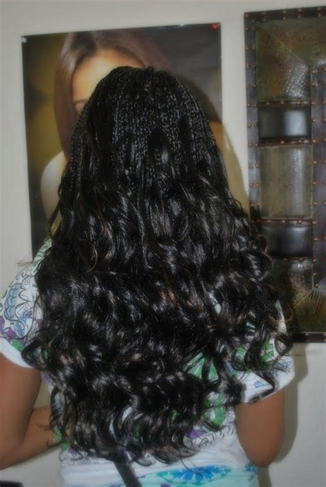 hairstyles with curly ends single braids with curly ends natural hair styles braids
