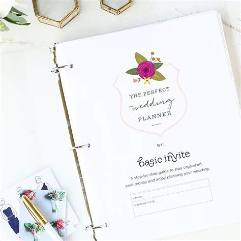 free printable wedding planner australia wedding planner printable by basic invite