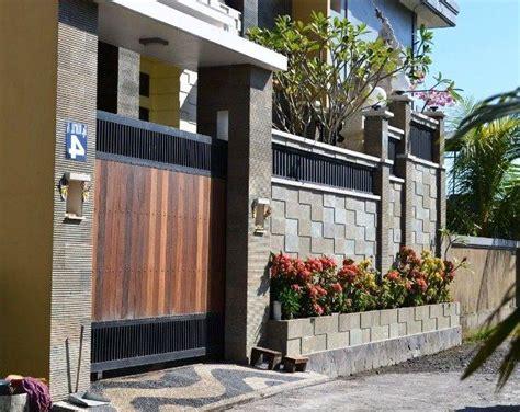 pagar rumah terkini desainrumahidcom